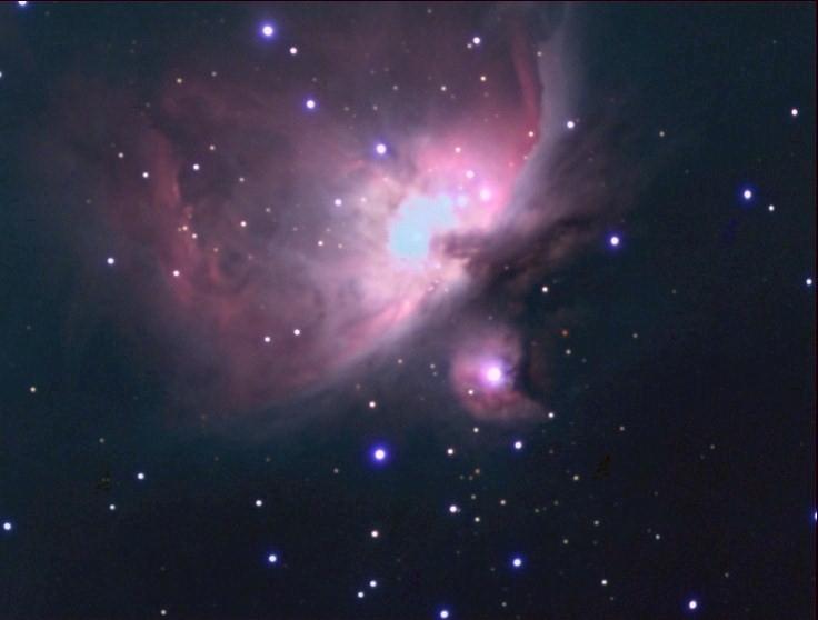 Ma 1er photo ciel profond avec M42 M42-102ccd